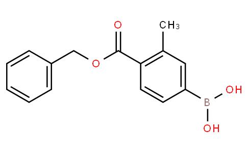 4-(Benzyloxycarbonyl)-3-methylphenylboronic acid