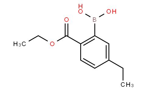 2-Ethoxycarbonyl-5-ethylphenylboronic acid