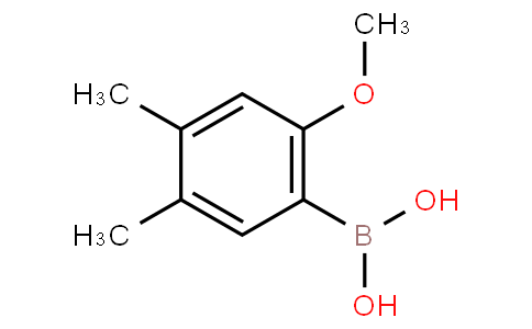 4,5-Dimethyl-2-methoxyphenylboronic acid