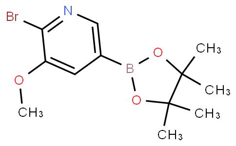 2-Bromo-3-methoxypyridine-5-boronic acid pinacol ester