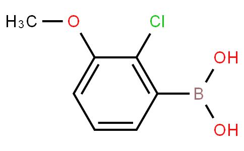 2-氯-3-甲氧基苯硼酸
