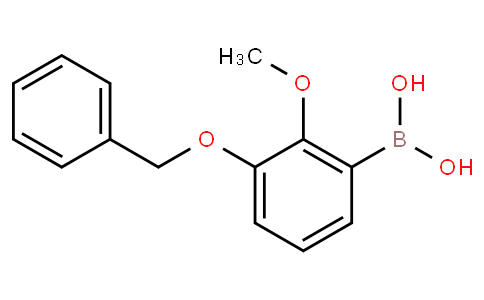 3-Benzyloxy-2-methoxyphenylboronic acid