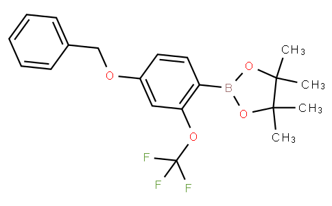 4-Benzyloxy-2-(trifluoromethoxy)phenylboronic acid pinacol ester