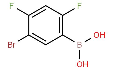 2,4-Difluoro-5-bromophenylboronic acid