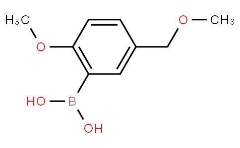 2-Methoxy-5-(methoxymethyl)phenylboronic acid