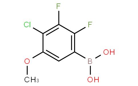4-Chloro-2,3-difluoro-5-methoxyphenylboronic acid
