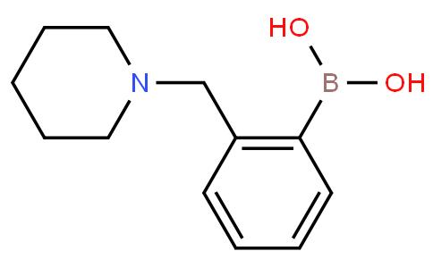 2-(Piperidin-1-ylmethyl)phenylboronic acid