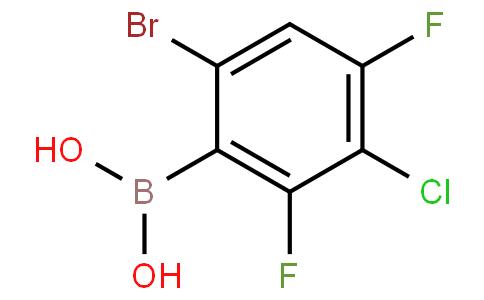 6-Bromo-3-chloro-2,4-difluorophenylboronic acid