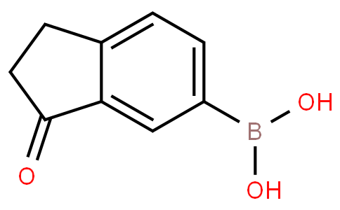 (3-Oxo-2,3-dihydro-1H-inden-5-yl)boronic acid