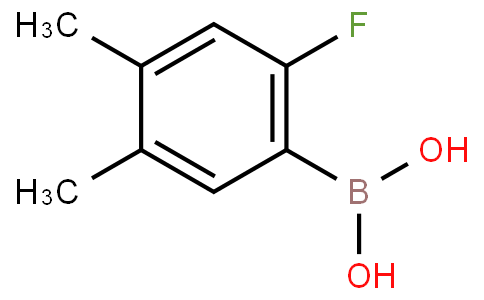 2-Fluoro-4,5-dimethylphenylboronic acid