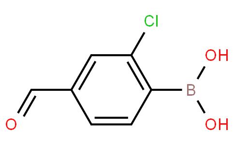 2-Chloro-4-formylphenylboronic acid