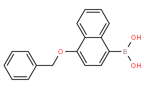 1-Benzyloxynaphthalene-4-boronic acid
