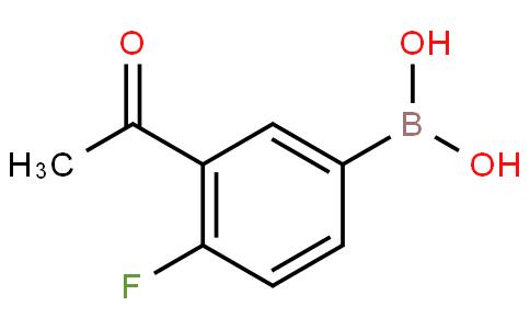 3-Acetyl-4-fluorophenylboronic acid