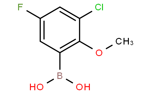 3-Chloro-5-fluoro-2-methoxyphenylboronic acid