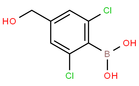 2,6-Dichloro-4-(hydroxymethyl)phenylboronic acid