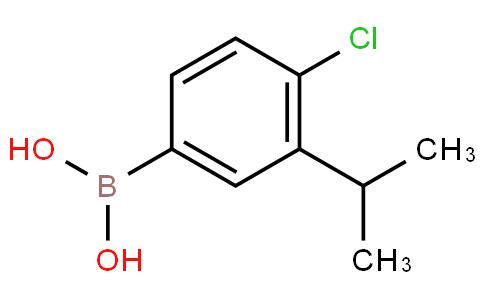 4-Chloro-3-isopropylbenzeneboronic acid
