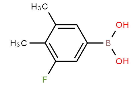 4,5-Dimethyl-3-fluorophenylboronic acid
