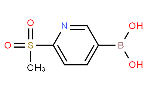 6-(methylsulfonyl)pyridine-3-boronic acid